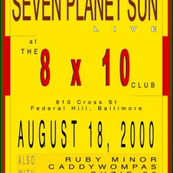 8x10 Club, design : Dan